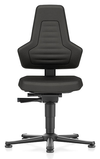 BIMOS - 9030E-CP01-3001 - ESD Chair NEXXIT 1, with glider, Supertec black, without handles, WL43922
