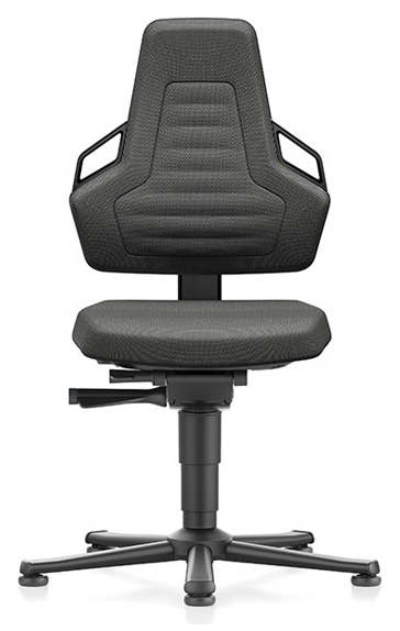 BIMOS - 9030E-9801-3218 - ESD chair NEXXIT 1, with glider, Duotec black, ESD handles, WL43864