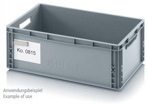 ET - Label clip for ESD container, WL37390