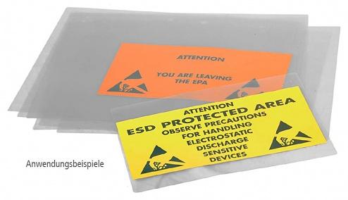 SAFEGUARD - 41-090-6008 - ESD laminating foil DIN A4, transparent, WL29102