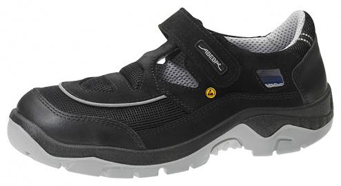 ABEBA - 32189-43 - ESD safety shoes anatomical, sandal black, size 43, WL29621