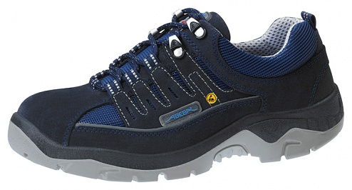 ABEBA - 32147-38 - ESD safety shoes anatomical, low shoe navy, size 38, WL29586