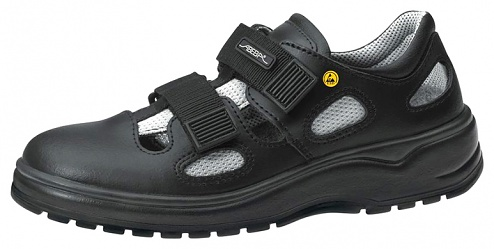 ABEBA - 7131136-47 - ESD Sandal black, professional shoe light, size 47, WL29437