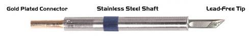 """THERMALTRONICS - K60DS035 - Soldering tip knife shape 3,50mm (0,138""""), WL37577"""