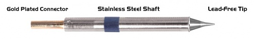 "THERMALTRONICS - K60CS005 - Soldering tip conical 0,5mm (0,02""), WL37573"