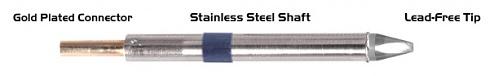 "THERMALTRONICS - K60CH018 - Soldering tip chisel 30° 1,78mm (0,07""), WL37567"