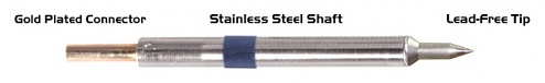 """THERMALTRONICS - K60C002 - Soldering tip conical 0,20mm (0,008""""), Micro Fine, WL37558"""