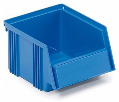 TRESTON - 1525-6 - Open fronted storage bin, 250 x 149 x 130 mm, blue, WL42390