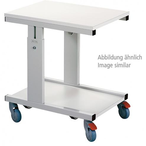TRESTON - CTR705 ESD - ESD CTR table trolley, light grey, 700 x 500 mm, WL36443