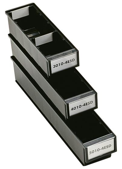 TRESTON - 4010-4ESD - ESD-Schublade, 92x400x82 mm, schwarz, WL36965