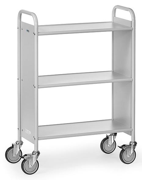 FETRA - 4870 - Office trolley, 3 shelves, 150 kg, 720 x 350 mm, WL39832