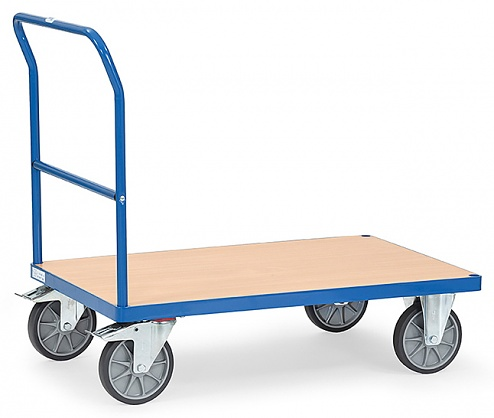 FETRA - 2501 - Push handle trolley, 1 shelf, 600 kg, 1000 x 600 mm, WL39813
