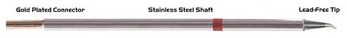 "THERMALTRONICS - M8SB276 - Soldering tip sharply bent 30° 0.5mm (0.02""), WL38001"
