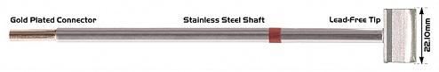 "THERMALTRONICS - M8LB127 - Soldering tip blade 22.1 mm (0.87""), WL37991"