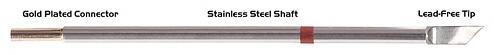 "THERMALTRONICS - M8DS526 - Soldering tip blade shape 4.83mm (0.19""), enlarged tin range 5.84mm (0.23""), WL37983"