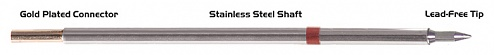 "THERMALTRONICS - M8CH008 - 30° 0.8mm (0.031"") Micro Fine Soldering Tip Chisel, WL37950"
