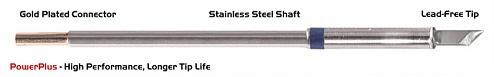 "THERMALTRONICS - M6K100H - Soldering tip knife shape 4.50mm (0.177""), Power Plus, WL38530"