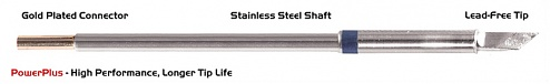 "THERMALTRONICS - M6DS526H - Soldering tip knife shape 4.50mm (0.177""), enlarged tin range 6.1mm (0.24""), Power Plus, WL37803"
