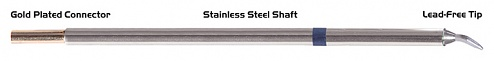 "THERMALTRONICS - M6CB226 - Soldering Tip Chisel bent 30° 1.5mm (0.06""), WL37767"