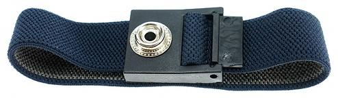 SAFEGUARD - SAFEGUARD ESD - ESD Wristband dark blue, 10 mm snap fastener, WL42059
