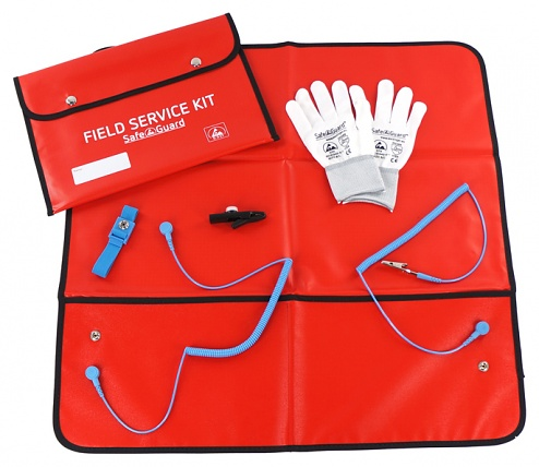 SAFEGUARD - SafeGuard Pro Plus - ESD Service Kit, red, complete, WL20920