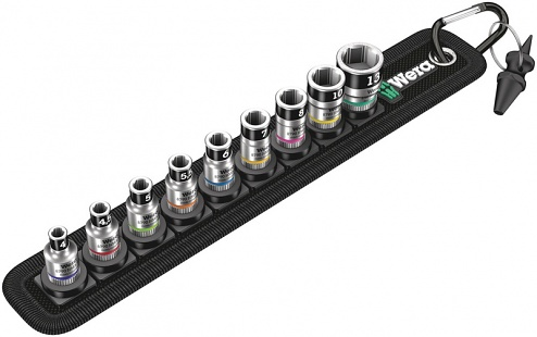 WERA - 05003880001 - Socket wrench insert set Belt A 1, WL42341