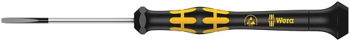 WERA - 05030101001 - ESD screwdriver slotted 1578 A, ESD Micro 0.23 x 1.5 x 40 mm, WL28600