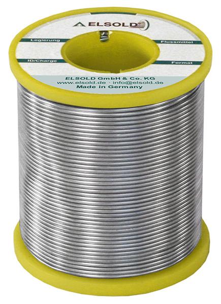 ELSOLD - RÖLOT8007 - Solder wire Sn99Ag0,3Cu0,7, 0,75 mm / Z0 (lead free), WL30123