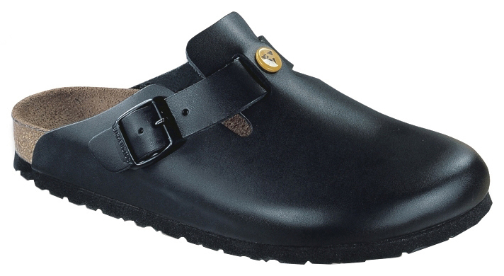 BIRKENSTOCK 061360 43 ESD Clogs BOSTON 43, Naturleder