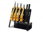 BERNSTEIN - 3-960 VT - ESD tool kit, 6 pcs, pliers from the TECHNICline series, WL43204