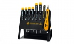 BERNSTEIN - 4-620 VC - ESD cross-head and slotted screwdriver set, 8 pcs, WL43230
