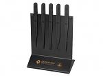 BERNSTEIN - 5-180 - ESD plastic tweezers set, 5 pcs, WL43279