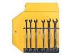 BERNSTEIN - 6-750 - Open-end wrench set, extra-thin, 6 pcs in plastic case, WL43336
