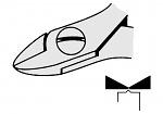 EREM - 2422E - ESD side cutter, oval, WL23081