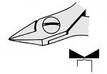 EREM - 2477E - ESD side cutter, tapered, WL23083