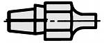 WELLER - DS-Measuring tip - Measuring tip for DSX80 / DSXV80, WL18218