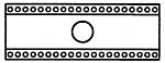 WELLER - T0054418099 - HT desoldering head, 40-pin, WL16512