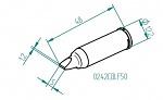 ERSA - 0242CDLF50 - Lötspitze für i-CON, meißelförmig, gerade, WL45709