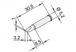 ERSA - 102CD-LF32 - Lötspitze für i-CON, meißelförmig, gerade, WL22886