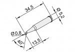 ERSA - 102SD-LF08L - Lötspitze für i-CON, bleistiftspitz, gebogen, WL23380
