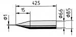 ERSA - 842BD - Lötspitze für ANA-/DIG-Tool (SB), rund, WL36040