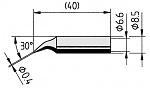 ERSA - 842ID - Lötspitze für ANA- / DIG-Tool, spitz, gewinkelt, WL12241