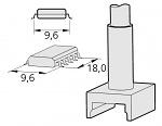 JBC - C245-215 - SMD desoldering tip for T245, WL20753