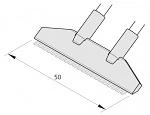 JBC - C420-283 - SMD desoldering tip for  HT420-A, WL21494