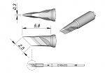 JBC - C105-212 - Löt-/Entlötspitze für Nano, abgeschrägt, WL29029