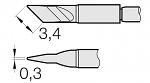JBC - C210-018 - Lötspitze für T210-A / T210-NA, klingenförmig, WL26247
