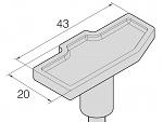 JBC - C470-027 - Special soldering tip for T470, WL30216