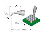 JBC - C105-124 - Löt-/Entlötspitze für Nano, konisch, gebogen, WL38773