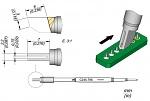 JBC - C245-796 - Lötspitze für T245, Durchgangsspitze 2,2 x 0,75 mm, Sonderform (de), WL45691
