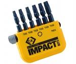 C.K - T4513 - Hammer drill bit set TX, WL36309